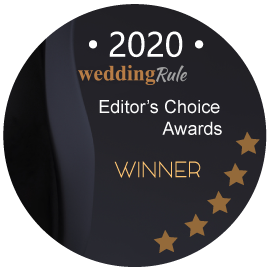 2020 WeddingRule Editors Choice Awards Winner